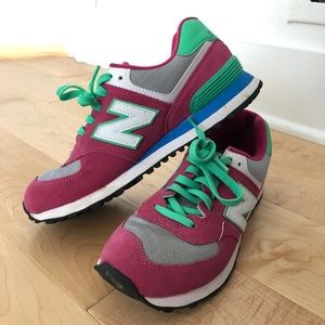 New balance snickers shoes